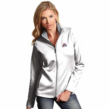 Colorado Avalanche Womens Leader Jacket (Color: White)