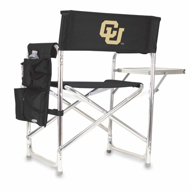 Colorado Embroidered Sports Chair (Black)