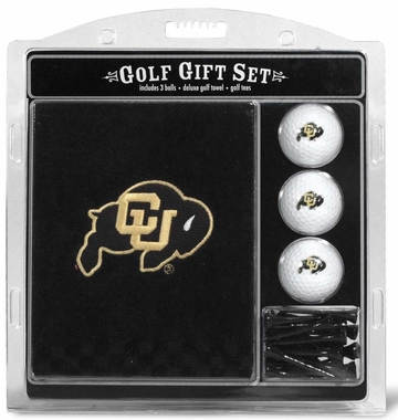 Colorado Embroidered Towel Golf Gift Set