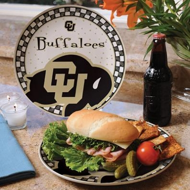 Colorado Gameday Ceramic Plate