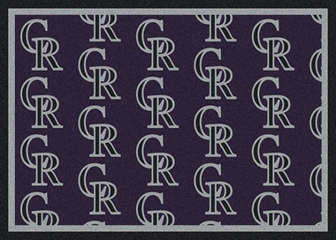 "Colorado Rockies 7'8 x 10'9"" Premium Pattern Rug"