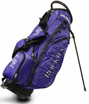 Colorado Rockies Fairway Stand Bag
