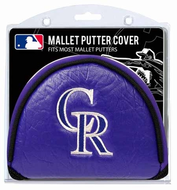 Colorado Rockies Mallet Putter Cover