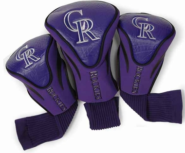 Colorado Rockies Set of Three Contour Headcovers