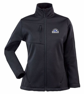 Colorado Rockies Womens Traverse Jacket (Color: Black)