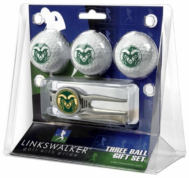 Colorado State 3 Ball Gift Pack With Kool Tool