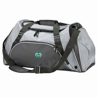 Colorado State Action Duffle (Color: Silver)