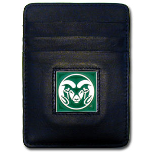 Colorado State Leather Money Clip (F)