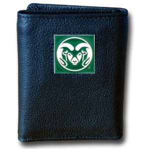 Colorado State Leather Trifold Wallet (F)