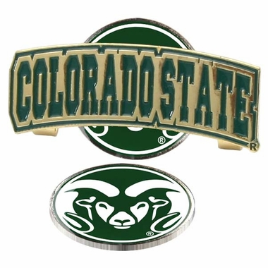 Colorado State Slider Clip With Ball Marker