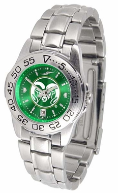 Colorado State Sport Anonized Women's Steel Band Watch