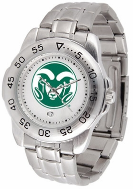 Colorado State Sport Men's Steel Band Watch