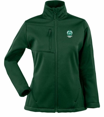 Colorado State Womens Traverse Jacket (Color: Green)