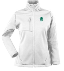 Colorado State Womens Traverse Jacket (Color: White) - Medium