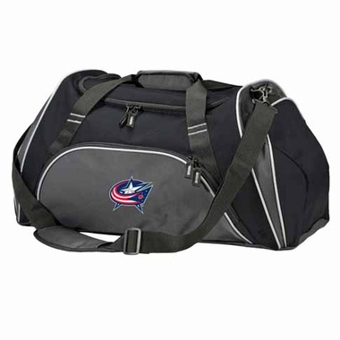 Columbus Blue Jackets Action Duffle (Color: Black)