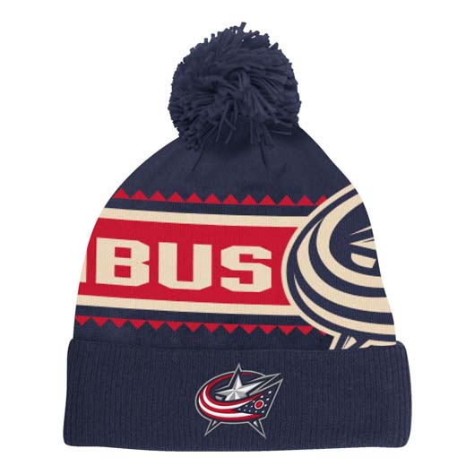 804d6fcbfe9 usa columbus blue jackets knit fe604 ff49e
