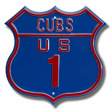 Cubs Us 1 Route Sign