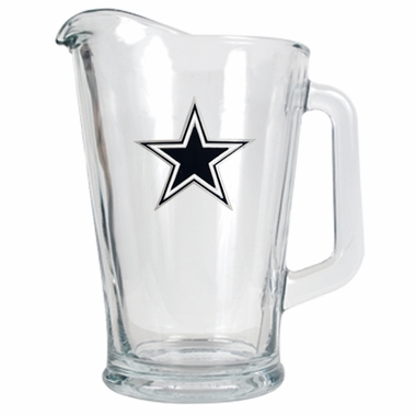 Dallas Cowboys 60 oz Glass Pitcher