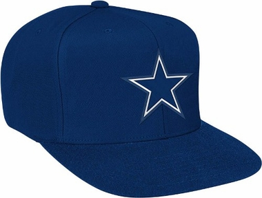 Dallas Cowboys Basic Logo Snap Back Hat (Navy)