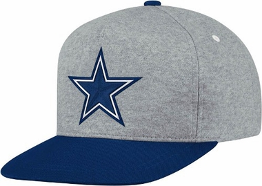 Dallas Cowboys Heather Pinch Panel Snap Back Hat