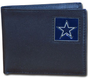 Dallas Cowboys Leather Bifold Wallet (F)