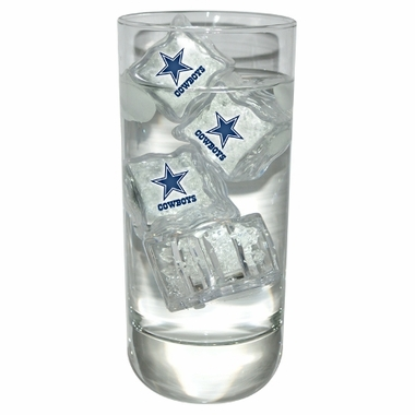 Dallas Cowboys Set of 4 Light Up Ice Cubes