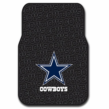 Dallas Cowboys Set of Rubber Floor Mats