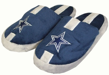 Dallas Cowboys YOUTH Team Stripe Slide Slippers