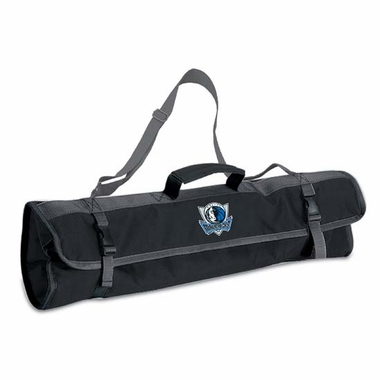 Dallas Mavericks 3pc BBQ Tote (Black)