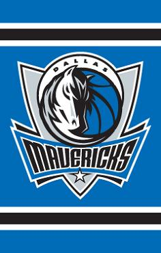 Dallas Mavericks Applique Banner Flag