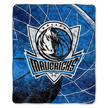 Dallas Mavericks Super-Soft Sherpa Blanket