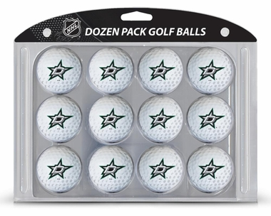 Dallas Stars Dozen Golf Balls