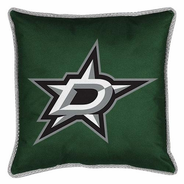 Dallas Stars SIDELINES Jersey Material Toss Pillow