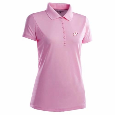 Dallas Stars Womens Pique Xtra Lite Polo Shirt (Color: Pink)