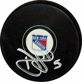 New York Rangers Autographed