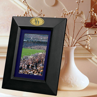 Delaware BLACK Portrait Picture Frame