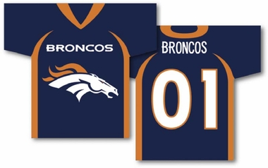 Denver Broncos 2 Sided Jersey Banner Flag (F)