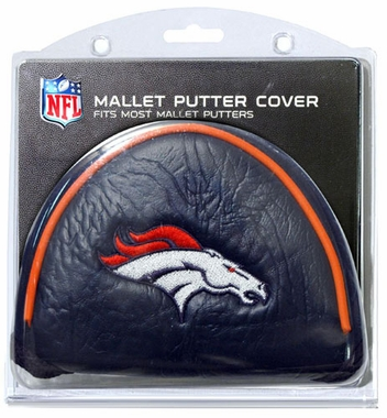 Denver Broncos Mallet Putter Cover