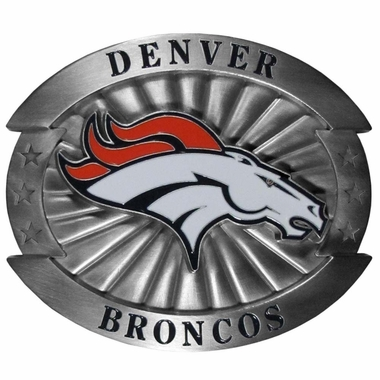 Denver Broncos Oversized Belt Buckle