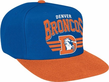 Denver Broncos Stadium Throwback Snapback Hat
