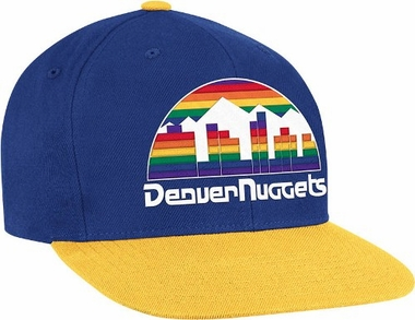 Denver Nuggets 2-Tone Vintage Snap back Hat