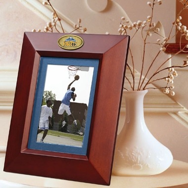 Denver Nuggets BROWN Portrait Picture Frame