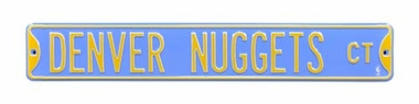 Denver Nuggets Ct Street Sign