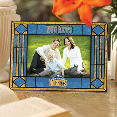 Denver Nuggets Landscape Art Glass Picture Frame