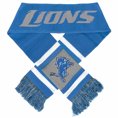 Detroit Lions 2012 Team Stripe Knit Scarf