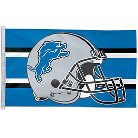 Detroit Lions Big 3x5 Flag (F)