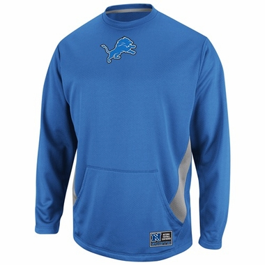 Detroit Lions Coverage Sack II Crew Sweatshirt