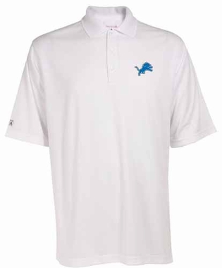 Detroit Lions Mens Exceed Polo (Color: White)