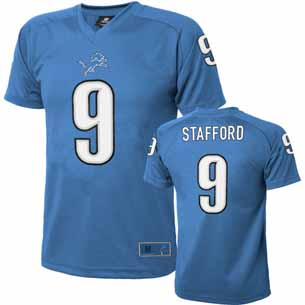 Detroit Lions Matthew Stafford Youth Performance T-shirt - Medium