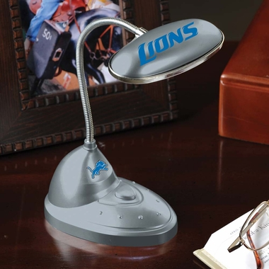 Detroit Lions Mini LED Desk Lamp